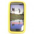Funda Silicona HTC Sensation Amarilla