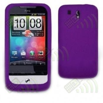 Funda Silicona HTC Legend Morada