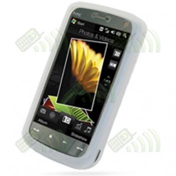 Funda Silicona HTC Touch HD Semitransparente