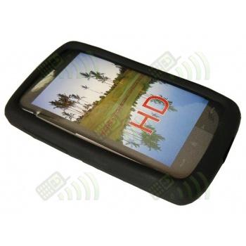 Funda Silicona HTC Touch HD Negra