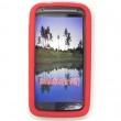 Funda Silicona HTC Sensation Roja