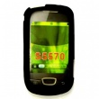Funda Silicona Samsung Galaxy Mini S5570 Negra