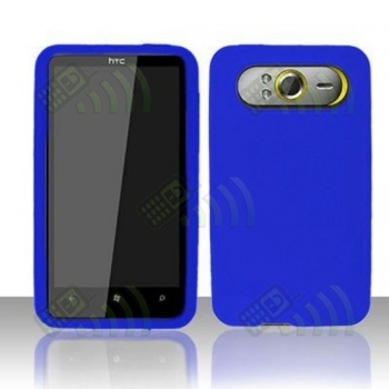 Funda Silicona HTC HD7 Azul