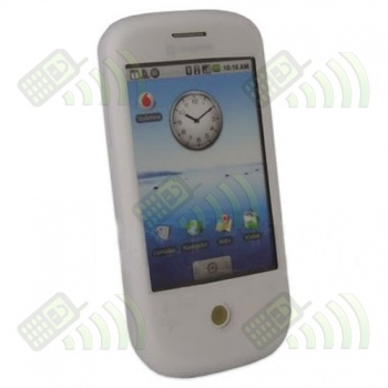 Funda Silicona HTC Magic Blanca