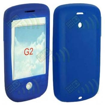 Funda Silicona HTC Magic Azul