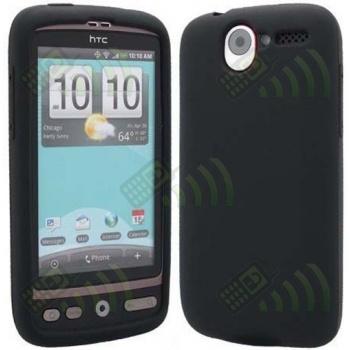 Funda Silicona HTC Desire Negra