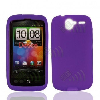 Funda Silicona HTC Desire Morada