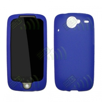 Funda Silicona HTC Nexus One Azul