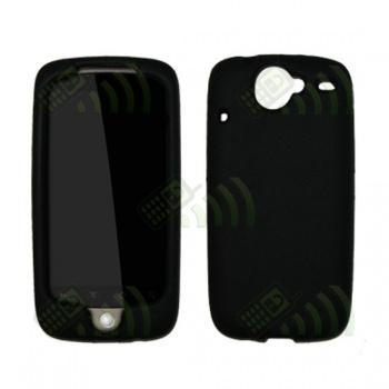 Funda Silicona HTC Nexus One Negra