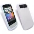 Funda Silicona HTC Legend Blanca