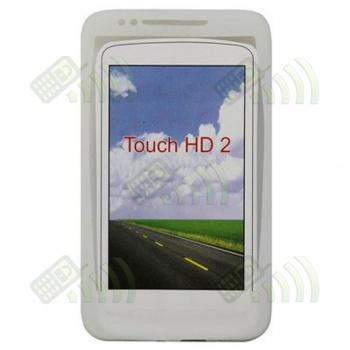 Funda Silicona HTC Touch HD 2 Semitransparente