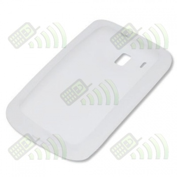 Funda Silicona HTC Touch HD Blanca