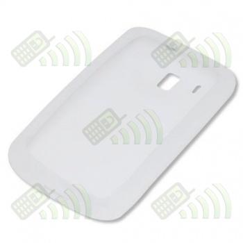 Funda Silicona HTC Touch HD Blanca