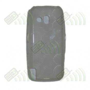 Funda Gel Nokia 5800 Transparente Círculos