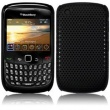 Carcasa trasera Blackberry 8520/9300 Negra Perforada