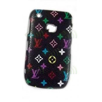 Carcasa trasera LV Blackberry 8520/9300 Negra