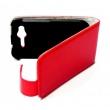 Funda Solapa HTC Desire S roja