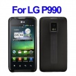 Funda Gel Silicona LG P990 Negra