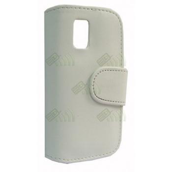 Funda Solapa Nokia N97 Mini Blanca