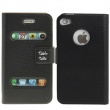 Funda Tipo Solapa Iphone 4 y 4S Negro