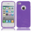 Funda Gel iPhone 4 & 4S Morada