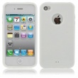 Funda Gel iPhone 4 & 4S Blanco