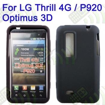 Funda Silicona LG P925 / P920 / Optimus 3D Negro