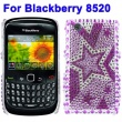Carcasa trasera Blackberry 8520 Carabela Diamantes incrustados