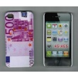 Carcasa trasera Billete de 500 euros Iphone 4