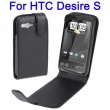 Funda Solapa HTC Desire S Negro