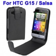 Funda Solapa HTC Salsa Negro