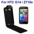 Funda Solapa HTC Sensation Negro A