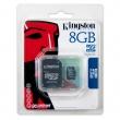 Tarjeta MicroSD Kingston de 8GB
