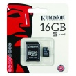 Tarjeta MicroSD Kingston de 16GB