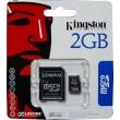 Tarjeta MicroSD Kingston de 2GB