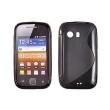 Funda Gel Samsung Galaxy Y /S5360 Negro Brillo y Mate