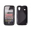 Funda Gel Samsung S5830 Galaxy Ace Negro Brillo y Mate
