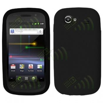 Funda Silicona Samsung Nexus S i9020 Negra