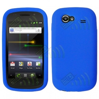 Funda Silicona Samsung Nexus S i9020 Azul