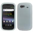 Funda Silicona Samsung Nexus S i9020 Blanca