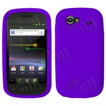 Funda Silicona Samsung Nexus S i9020 Morada
