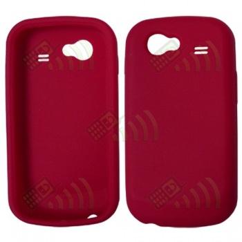 Funda Silicona Samsung Nexus S i9020 Roja