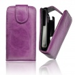 Funda Solapa iPhone 4G/4S Morada
