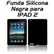 Funda Silicona para IPAD 2 Negra