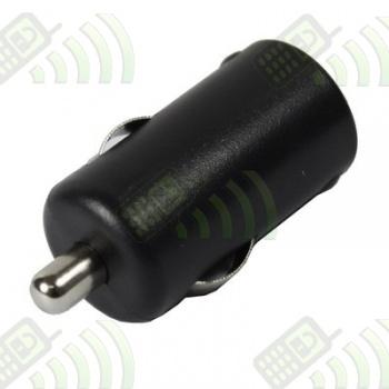 Adaptador Puerto USB Coche 2.1A Negro