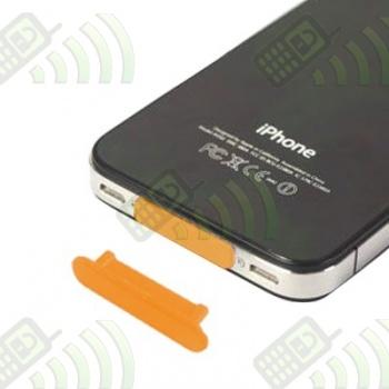 Protector del Conector Dock Iphone/Ipod/Ipad Amarillo