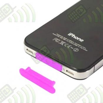 Protector del Conector Dock Iphone/Ipod/Ipad Rosa