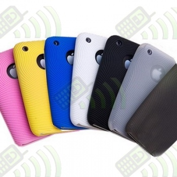 Funda Silicona Iphone 3G/3GS Semitransparente
