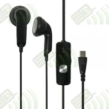 Auriculares - Manos Libres HTC conector USB 11 pines