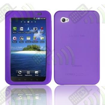 Funda Silicona Samsung Galaxy Tab P1000  Morada